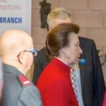 HRH The Princess Royal visit to HMP Channings Wood